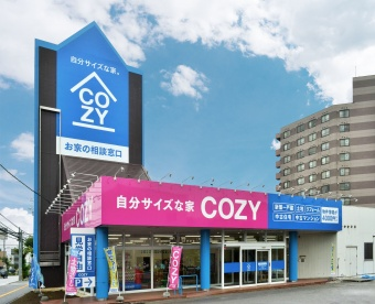 COZYショールーム厚別店の様子(1)