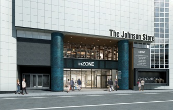The JOHNSON STOREの様子(1)