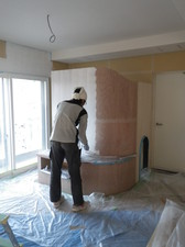 塗り壁工事